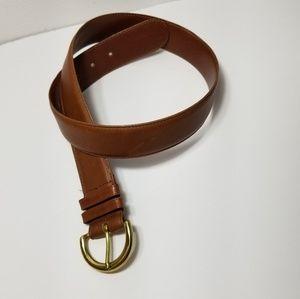 Coach Tan Leather Belt 8500 SZ medium